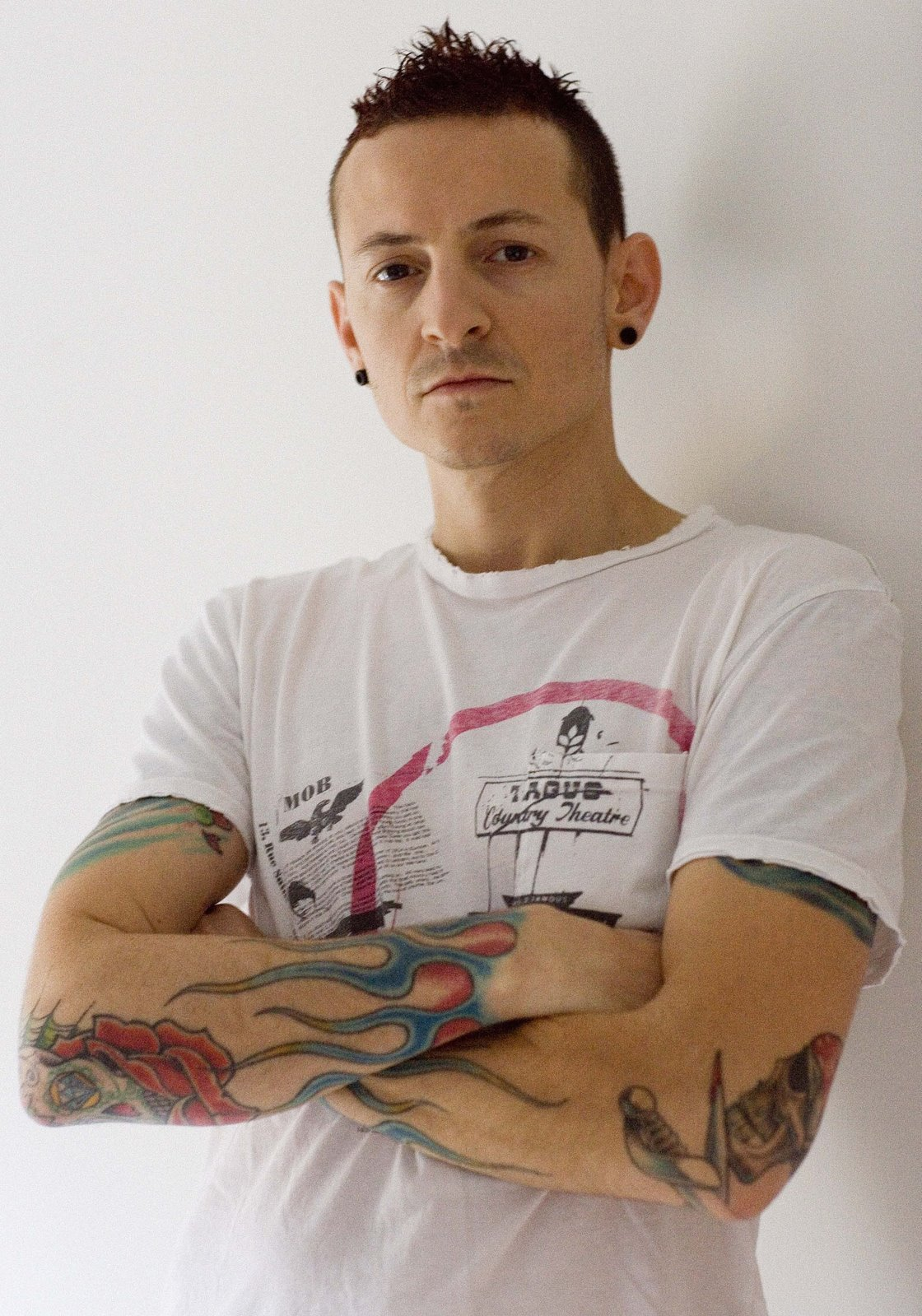 Interview Linkin Park S Chester Bennington Justine Goodman