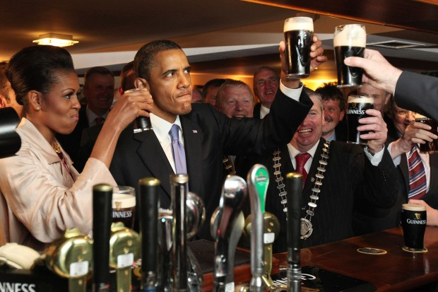 BESTPIX  U.S. President Barack Obama Visits Ireland